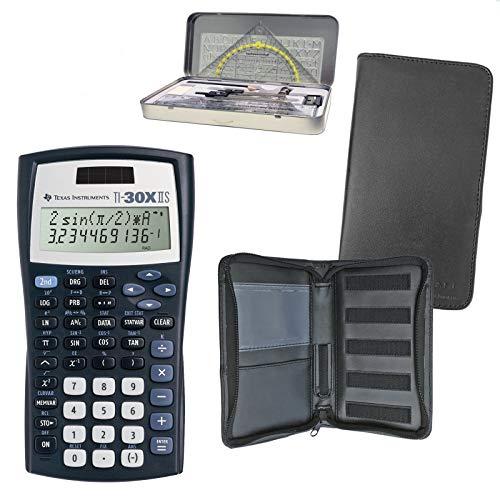 Texas Instruments TI 30 X II - Kit solare premium + custodia protettiva + set geometrico: calcumio articolo