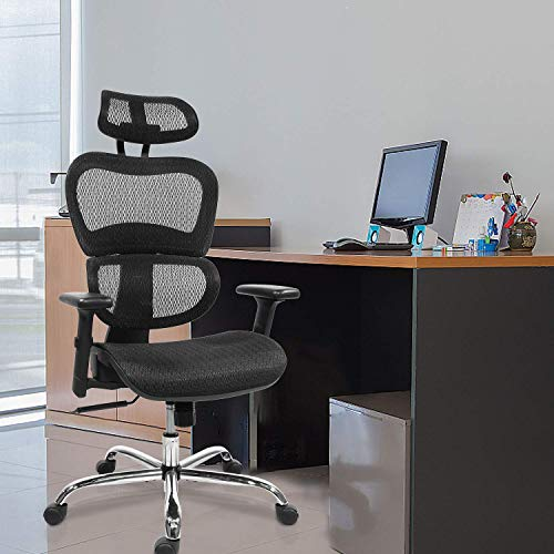 Home Office Chair Mesh Ergonomic Compute Buy Online In Zambia At Desertcart