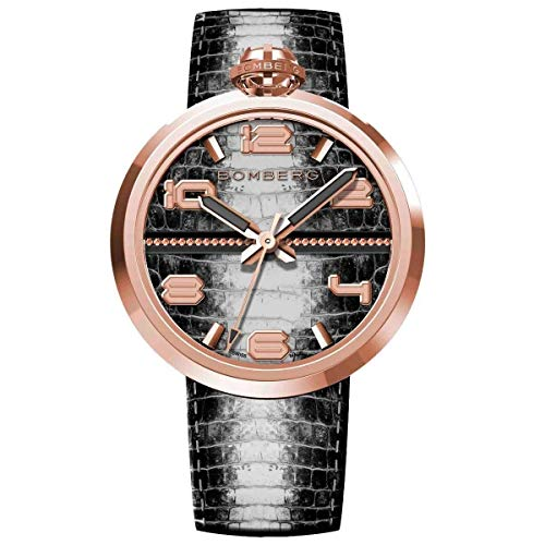 Bomberg 1968 Armbanduhr Roségold PVD