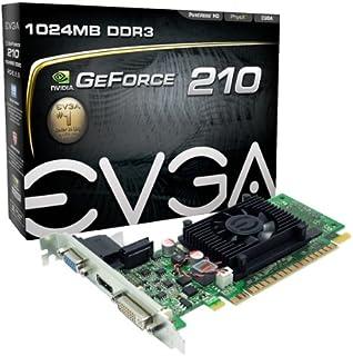 EVGA GeForce 210 1204 MB DDR3 PCI Express 2.0 DVI/HDMI/VGA Graphics Card, 01G-P3-1312-LR