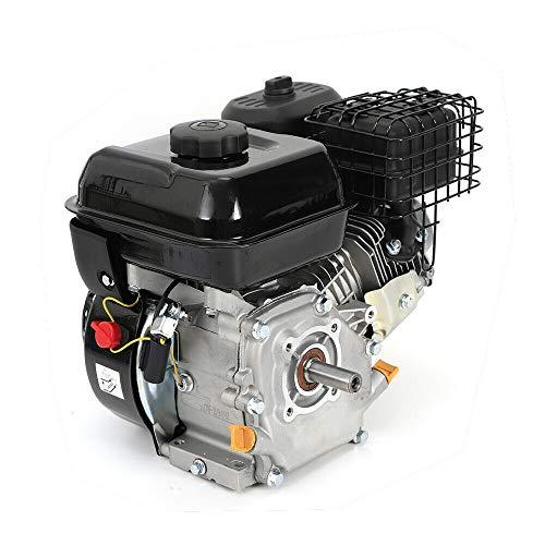 Motor de gasolina HaroldDol ZT210 de 4 tiempos, 7,5 CV, motor de arena, motor de kart, motor de cambio, refrigeración por aire forzado, motor monocilíndrico con alarma de aceite