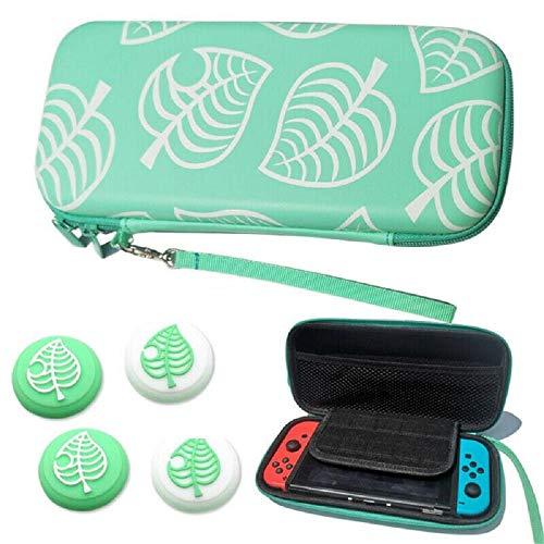 1PC schützende Daumengriffkappen Tragbare Tierkreuzung Tragetasche Aufbewahrungstasche für Nintendo Switch/Switch Lite-Aufbewahrung (Nylon Switch Bag)
