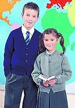 Stylecraft Childrens School Cardigans Special Knitting Pattern 4909 DK