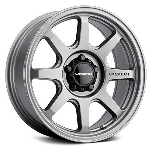 Vision 351 FLOW Custom Wheel - 17x9, 20 Offset, 6x139.7 Bolt Pattern, 106.2mm Hub - Satin Gray Rim