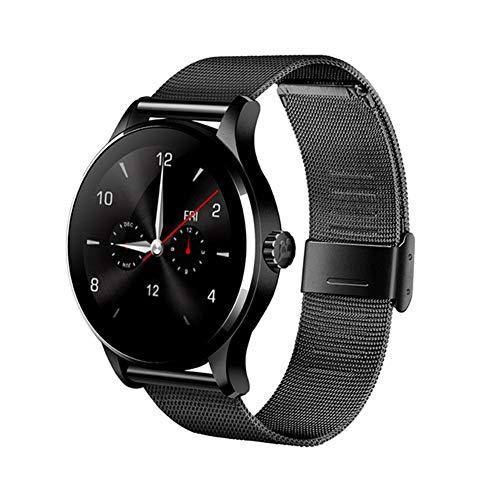 LXZ K88H Multifunktions-Smartwatch 1,22 Zoll IPS-Rundsieb Unterstützt Herzfrequenzmonitor Bluetooth Fitness Wasserdichten Multi-Sport-Smartwatch,F