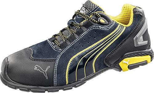 PUMA Men's Rio Blue Work Shoes Soft Toe Blue 11 D