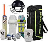 SG - Juego de críquet para Casco (tamaño Completo, Incluye Kit de Casco)
