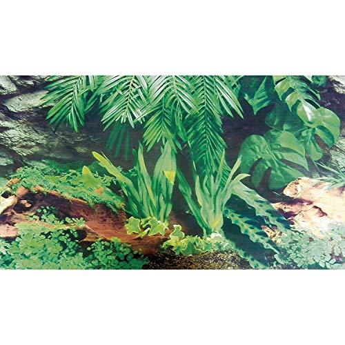 Trixie Terrarium Rückwand doppelseitig mit Tropic/bark Motiv, 150x 60cm, 4Stück - 3