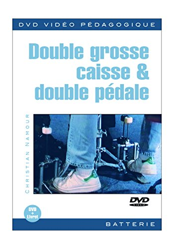 Namour Christian Double Grosse Caisse & Double Pedale Drums Dvd French