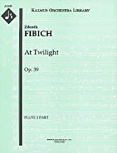 At Twilight, Op.39: Flute 1, 2 and 3 parts [A1445]