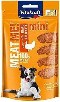 Vitakraft Meat Me! Mini Dinde Friandise Snack à la Viande Qualité Premium pour Chien 60 g