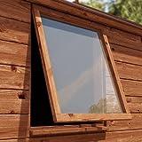 Displaypro 4mm Transparent Acryl Plastik Sicherheit Blatt Für Schuppen Fenster M Verfügbar - 457mm...