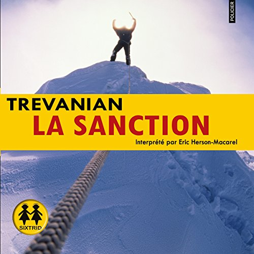 La sanction audiobook cover art