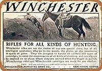 1905年ウィンチェスターライフルヴィンテージルックメタルサインウォールサイン20x30cm