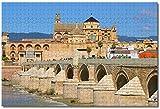 WEILONG.co España Puente romano Córdoba Rompecabezas para adultos Niños 1000 piezas Juego de...