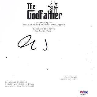 al pacino signed godfather script