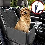 MATCC Pet Car Booster Seat Pet Dog Car Supplies Waterproof Pet Car Seat Cover Single Front Seat with...