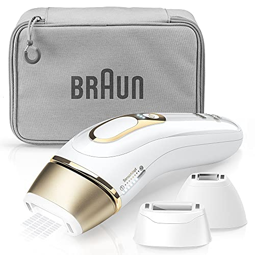 Braun PL-5227 Silk Expert White Photosilizing Container, Includes Attachment for Face/Full Body Care