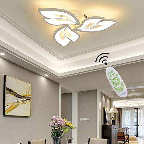 Lampada da soffitto a LED Lampada da soggiorno a LED dimmerabile Moderna Lampadari Forma di Fiore...