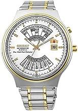 Orient Perpetual Calendar World Time Automatic White Dial Men's Watch FEU00000WW