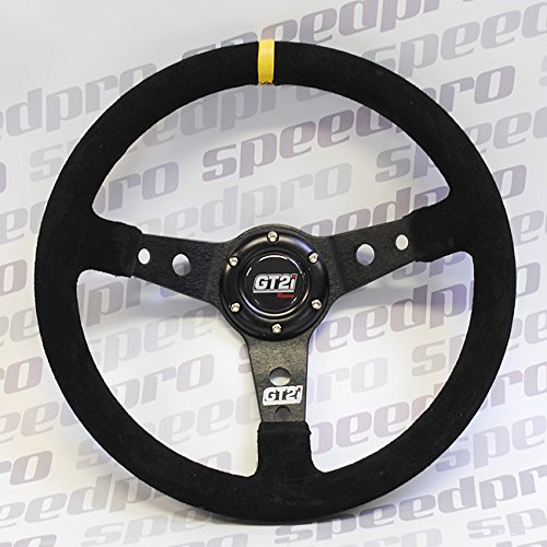 Lenkrad gt2i 350 mm Wildleder Leder Deep Dish Lenkrad Racing/Rally