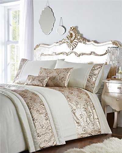 Homemaker bed sets with rose gold or silver sequins duvet covers & optional extras