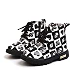 Zapatos planos Niños En Venta, Zapatos de bebé Niños Niños Niñas Martin Sneaker Botas de impresión de dibujos animados Niños Niños Casual Negro 12-18 meses, Zapatos de bebé Recién nacido
