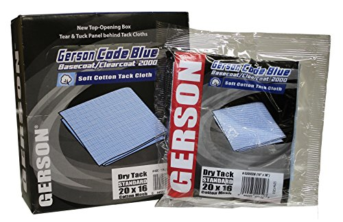 Code Blue SMR-921 Gerson Basecoat/Clearcoat 2000 Tack Cloth