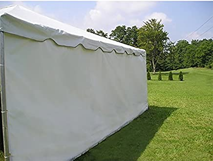 Moose Supply Party Tent Solid PE Material Sidewall Weddings,  Events Parties,  7-Foot 8-Foot Tall,  10-Foot,  20-Foot 30-Foot Wide (Side Wall Only Not Complete Tent)