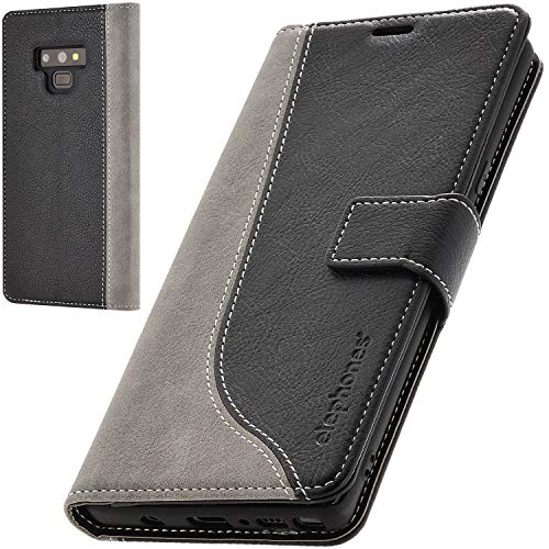 elephones Schutzhülle kompatibel mit Samsung Galaxy Note 9 Hülle Handyhülle Handy-Tasche Wallet Hülle Cover