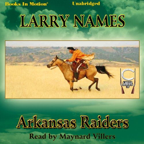 Arkansas Raiders audiobook cover art