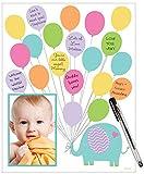 Amscan Baby Shower Autograph Matte, 1 piece