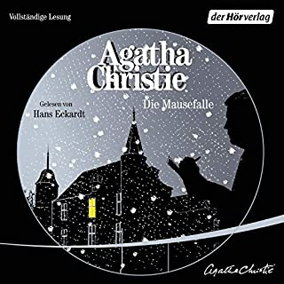 Die Mausefalle                   Autor:                                                                                                                                 Agatha Christie                               Sprecher:                                                                                                                                 Hans Eckardt                      Spieldauer: 2 Std. und 45 Min.     16 Bewertungen     Gesamt 4,8