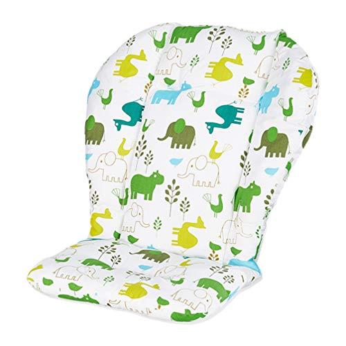 NUOBESTY - Forro para asiento de bebé, diseño de elefante, algodón