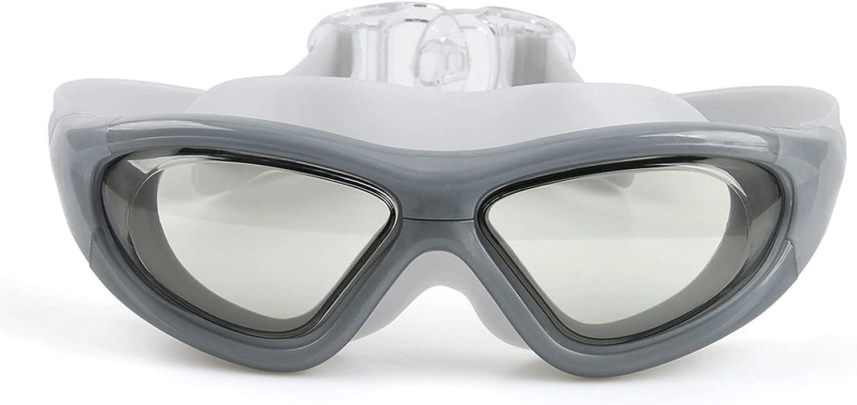 GLOPTNDZY PC Large-Frame Swimming 5% OFF Silicone Anti-Fog Gog Goggles Max 40% OFF