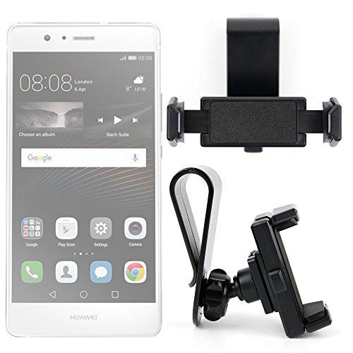 DURAGADGET Exclusivo Montura/Soporte de Parasol de Coche Smartphones Huawei Mate 8 / GX8 / P9 Plus / P9 / P9 Lite/Honor V8