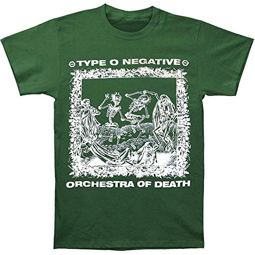 Authentic Type O Negative Orchestra of Death Skeleton Green T-Shirt S M L XL New