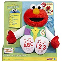 セサミストリート エルモ 乳幼児知育人形 Sesame Street Ready for School Elmo 並行輸入品