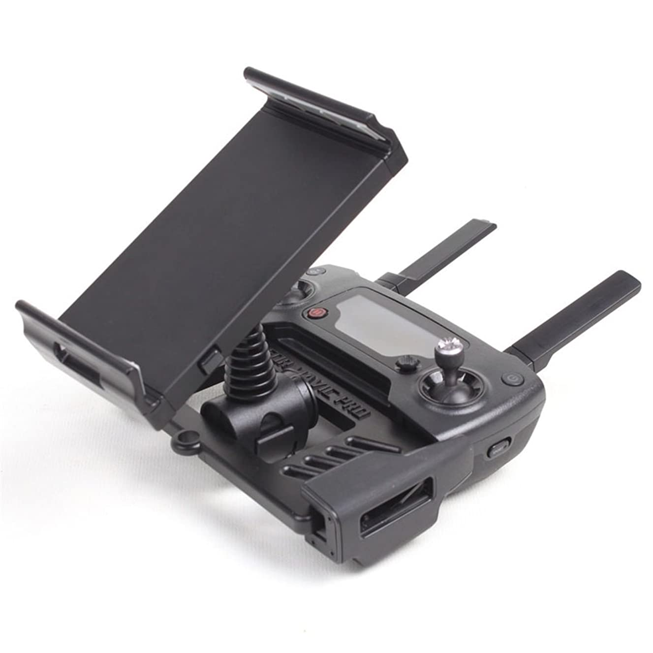 XmiPbs 360 Degree Rotation Mobile Device Tablet Holder for 4-12 Inch Mobile Phone and iPad Tablet for DJI Mavic Pro Remote Control