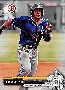 Fernando Tatis Jr. baseball card (San Diego Padres) 2017 Topps Bowman Rookie #BD71