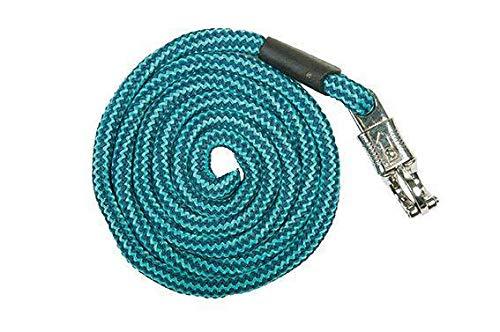 HKM Strick -Aachen- mit Panikverschluss, dunkelblau/türkis, 180 cm