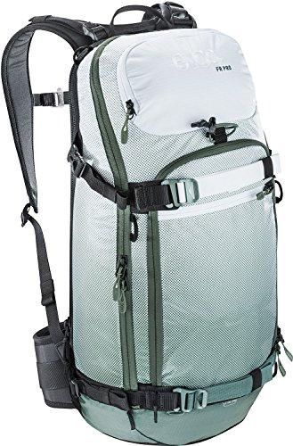 EVOC Herren Protektor Rucksack Fr Pro, olive / white, 56 x 27 x 14 cm, 20 Liter, 7017203470