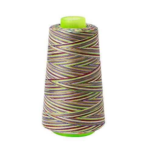 shiy Hilo para Tejer a Crochet Bordado del Hilo de Coser del hogar Artesanía Parche Bordado de Hilo Máquina Manual Suministros de Costura Pompones de Colores (Color : 41121)