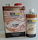 AUTOBAHN AC-9044 4+1 /AH-6480 Medium ACTIVATOR 4:1 Glamour Urethane CLEARCOAT Wet Wet Look Restoration CAR Paint Supplies