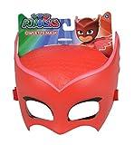 Simba – PJ Masks Maske Eulette / mit elastischem Gummiband / zum Verkleiden/ rot / 20cm, für...