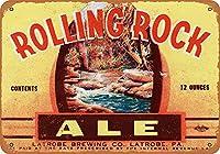 1934年ローリングストーン展壁アートブリキ看板