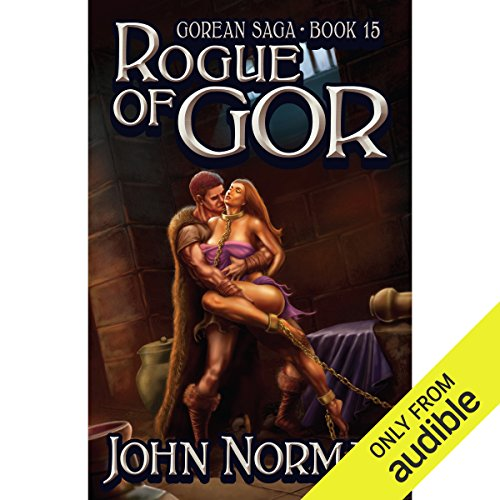 Rogue of Gor audiobook cover art