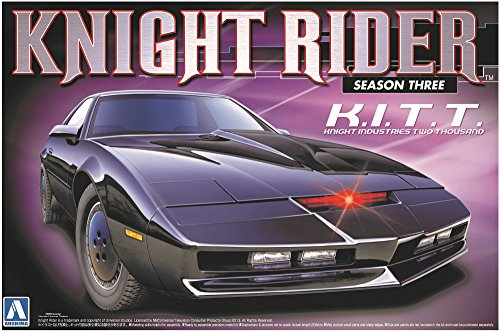 KNIGHT RIDER Modelo KIT Coche de montaje de la TEMPORADA 3 K.I.T.T. Escala 1/24 AOSHIMA Movie Mechanical