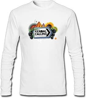 Hefeihe DIY Kendal Calling Festival 2016 Men's Long-Sleeve Fashion Casual Cotton T-Shirt