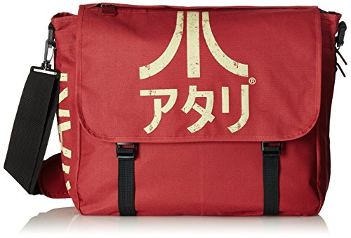 DIFUZED SAC Atari Avec BANDOUILLERE ET Logo JAPONAIS Kinder-Rucksack, 47 cm, Rot (Rouge)